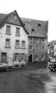 Meisenheim am Glan / Ansicht Boos von Waldeck'scher Hof Historie