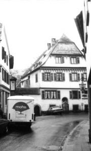 Meisenheim am Glan / Ansicht Gelbes Haus - Historie