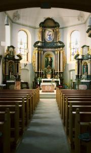 Meisenheim am Glan / Innenansicht Katholische Kirche