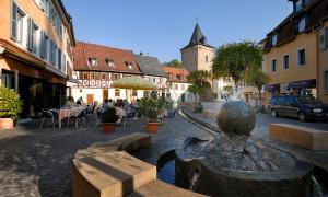 Meisenheim am Glan / Ansicht Rapportierplatz