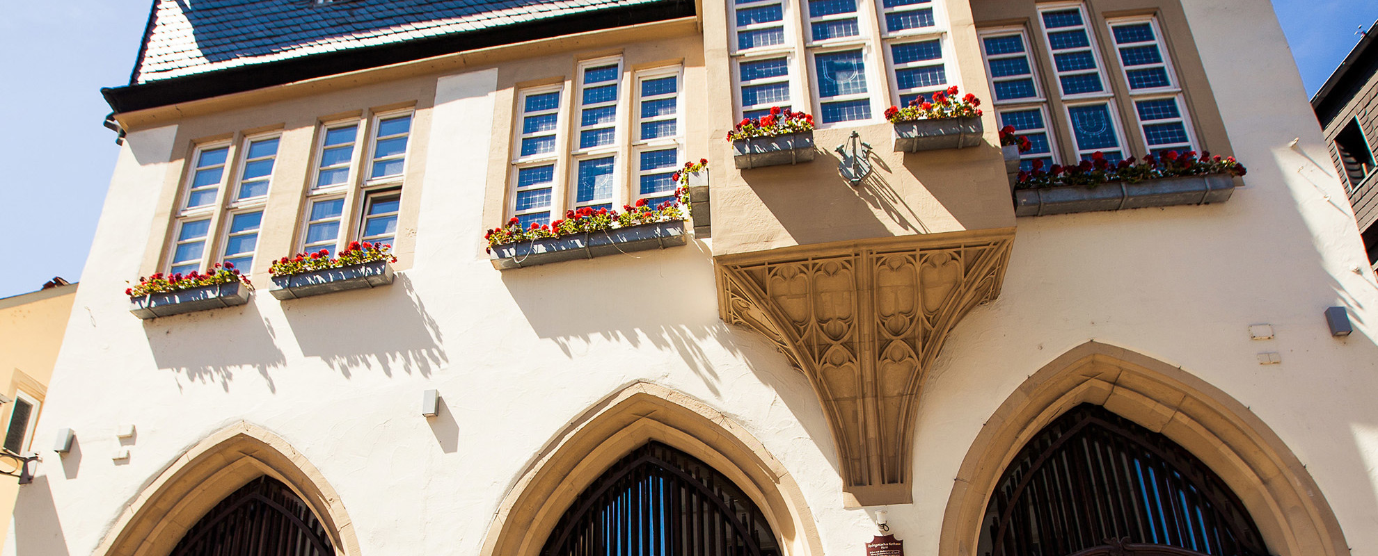 Das spätgotische Rathaus