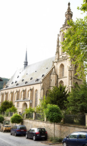 Meisenheim am Glan / Ansicht Schlosskirche