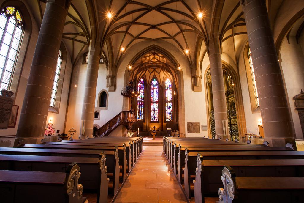 Meisenheim am Glan / Innenansicht Schlosskirche