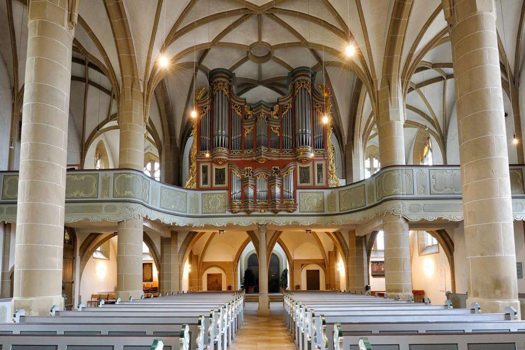 Meisenheim am Glan / Ansicht Schlosskirche - Stumm-Orgel