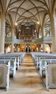 Meisenheim am Glan / Ansicht Schlosskirche Stumm-Orgel