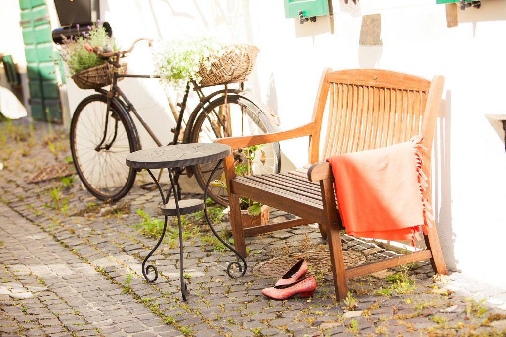 Meisenheim am Glan / Ansicht Straßenrand