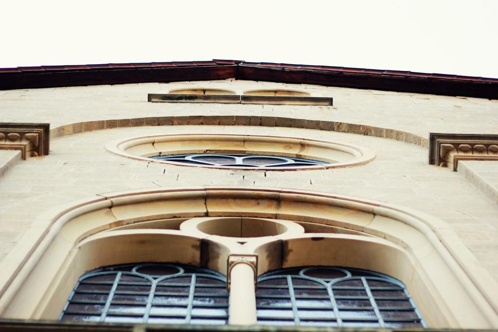 Meisenheim am Glan / Ansicht Synagoge - Fenster