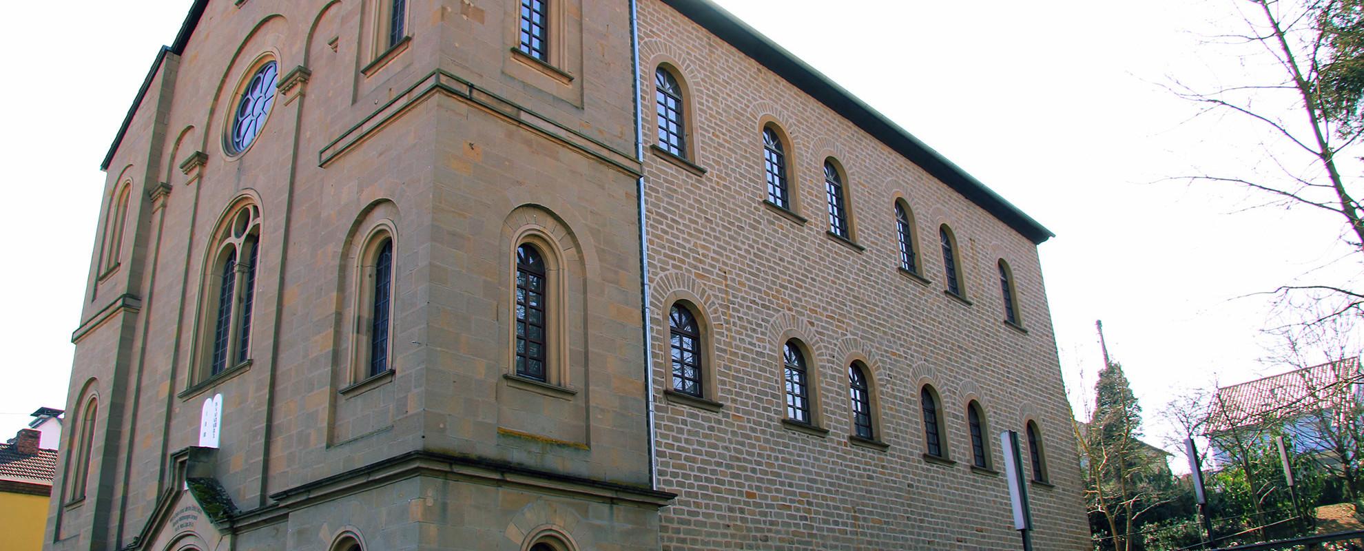 Die Ehem. Synagoge / Haus der Begegnung