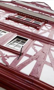 Meisenheim am Glan / Ansicht Thayn'sches Haus - Fachwerk