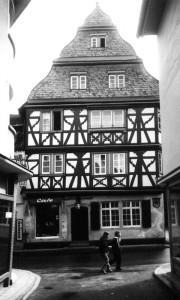 Meisenheim am Glan / Ansicht Thayn'sches Haus - Historie