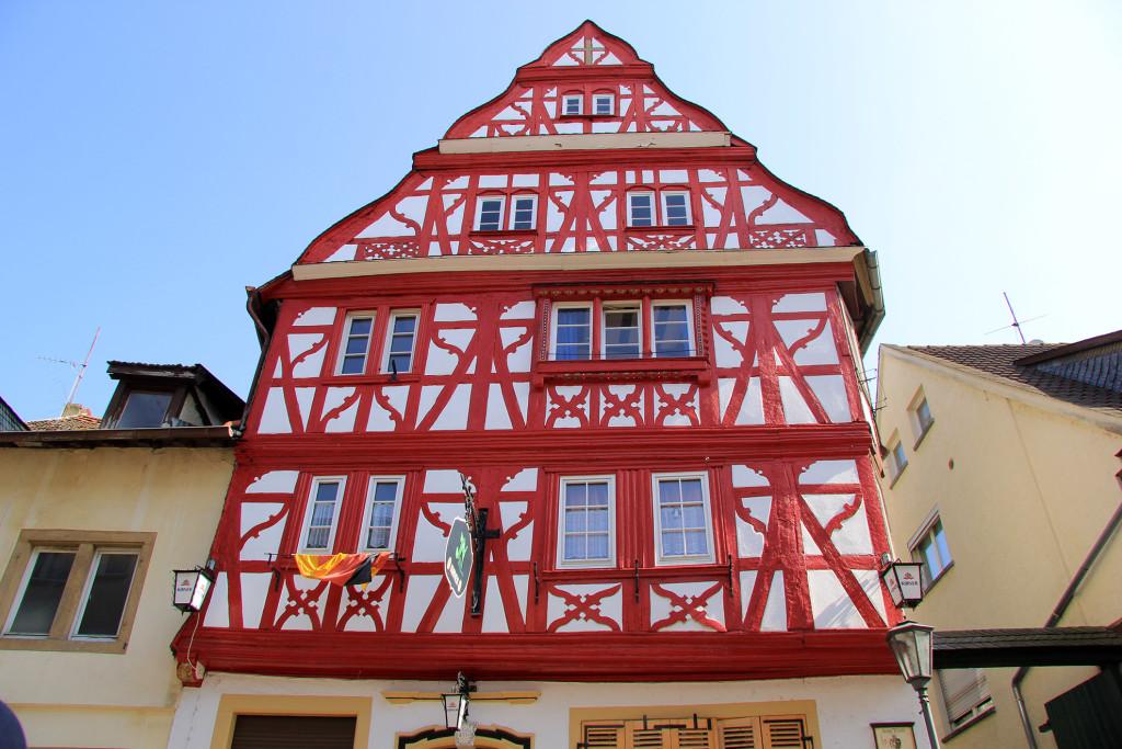 Meisenheim am Glan / Ansicht Thayn'sches Haus - Untergasse