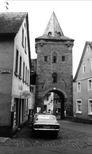 Meisenheim am Glan / Ansicht Untertor - Historie