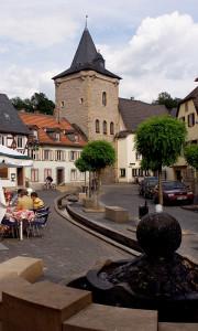 Meisenheim am Glan / Ansicht Untertor - Rapportierplatz