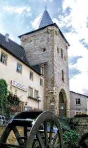Meisenheim am Glan / Ansicht Untertor - Wasserrad
