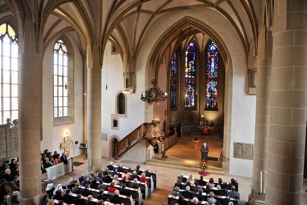 Meisenheim am Glan / Rede von Werner Keym zum Festakt - 700 Jahre Stadtrechte in der Schlosskirche