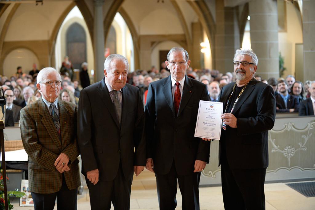 Meisenheim am Glan / Festakt -700 Jahre Stadtrechte in der Schlosskirche - Verleihung Stadtehrenring