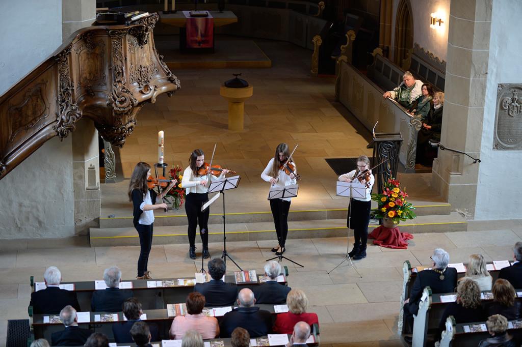 Meisenheim am Glan / Festakt -700 Jahre Stadtrechte in der Schlosskirche - Musikalisches Zwischenspiel