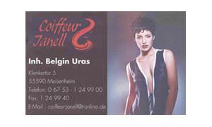 Coiffeur Janell / Belgin Uras / Logo