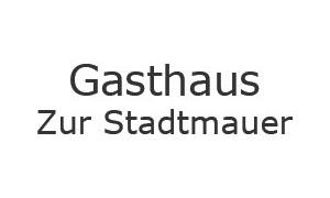 """Gasthaus """"Zur Stadtmauer"""" / Logo"""