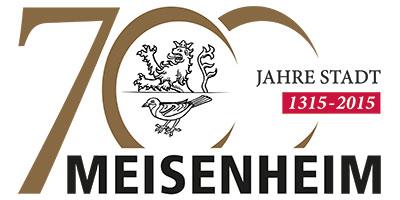 Stadt Meisenheim / Logo - 700 Jahre Stadtrechte